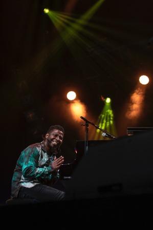 Concert privé de Rolando Luna