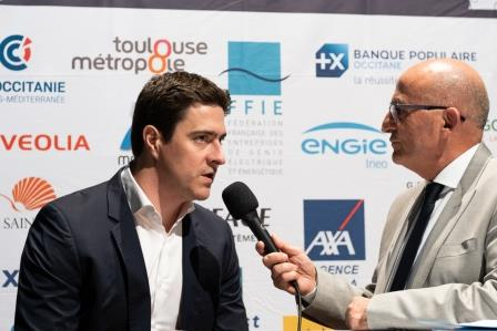 Pierre GATIMEL, GBMP, lors de la 5ème Cérémonie des Défis d'Entreprises
