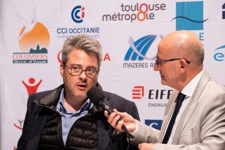 Jérôme MARTRES, SPIE BATIGNOLLES / MALET lors de la 5ème Cérémonie des Défis d'Entreprises