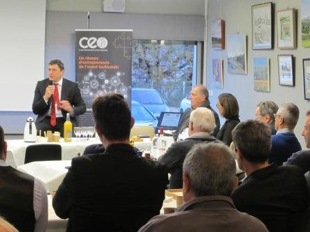 Café-croissants du CEO avec Didier Lacroix